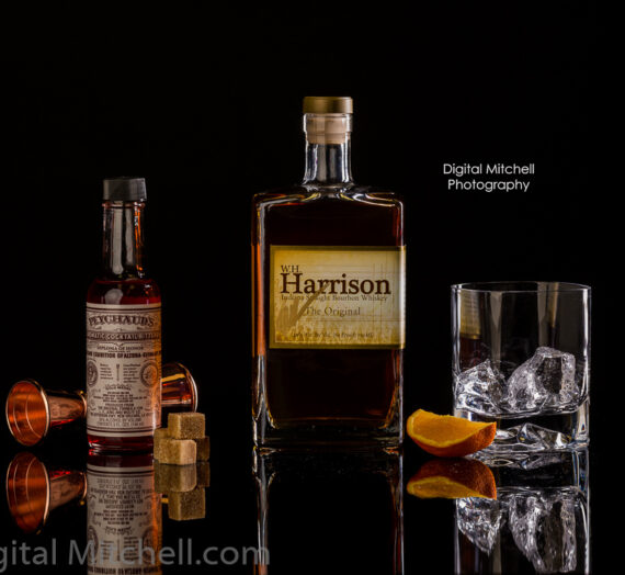 Harrison Bourbon Bottle