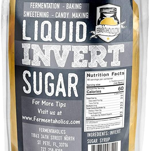 Invert Syrup – What Is It??