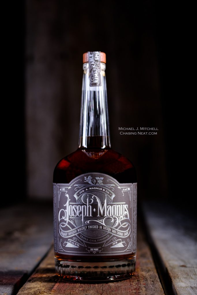Image of a Joseph Magnus Bourbon Bottle
