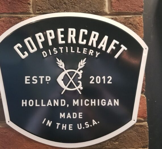 Coppercraft Distillery Tasting
