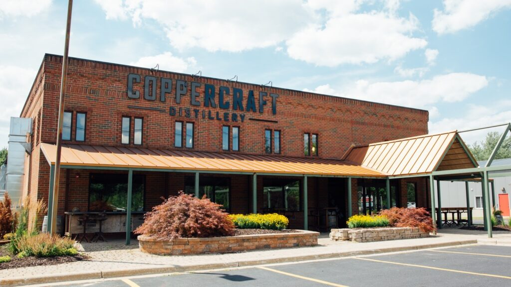 Image of the Coppercraft distillery building