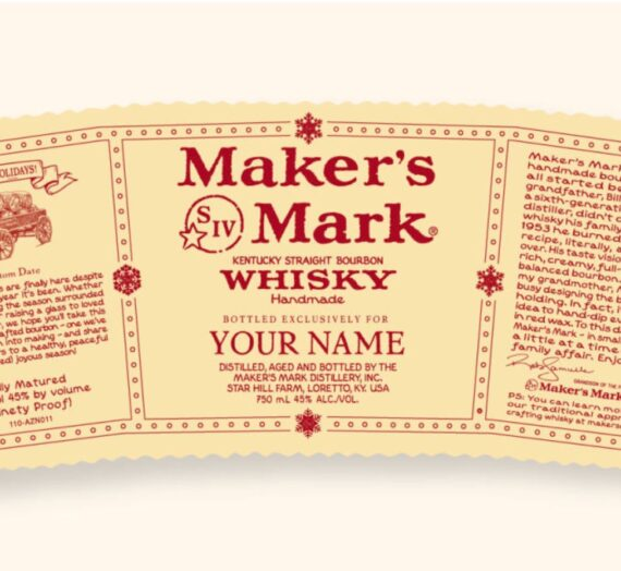 How To Make A Custom Maker's Mark Label.